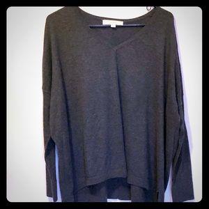 Merino blend LOFT slouchy sweater